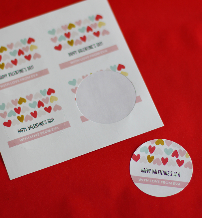Gift bag labels from Tiny Prints