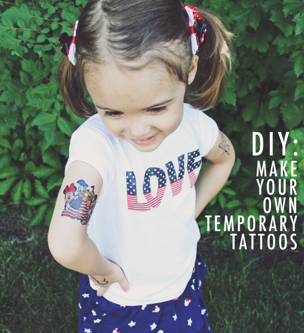 Ever Clever Mom - Make Your Own Temporary Tattoos with ...